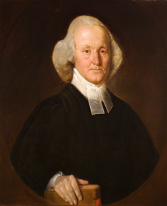 Portrait of the Reverend Edward Miller