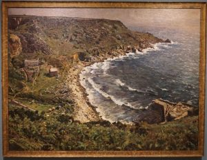 Lamorna Cove' by Charles Walter Simpson.