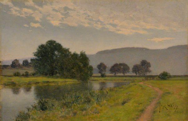 The River Arun at Amberley