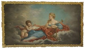 A Pair of Allegories ~ Francois Boucher