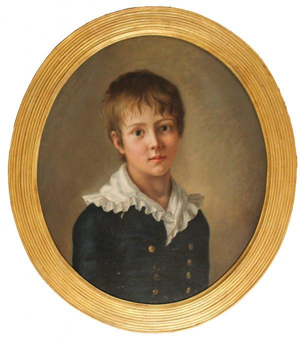 Portrait of a Young Midshipman