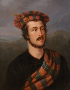Portrait of a Young Man in Highland Landscape