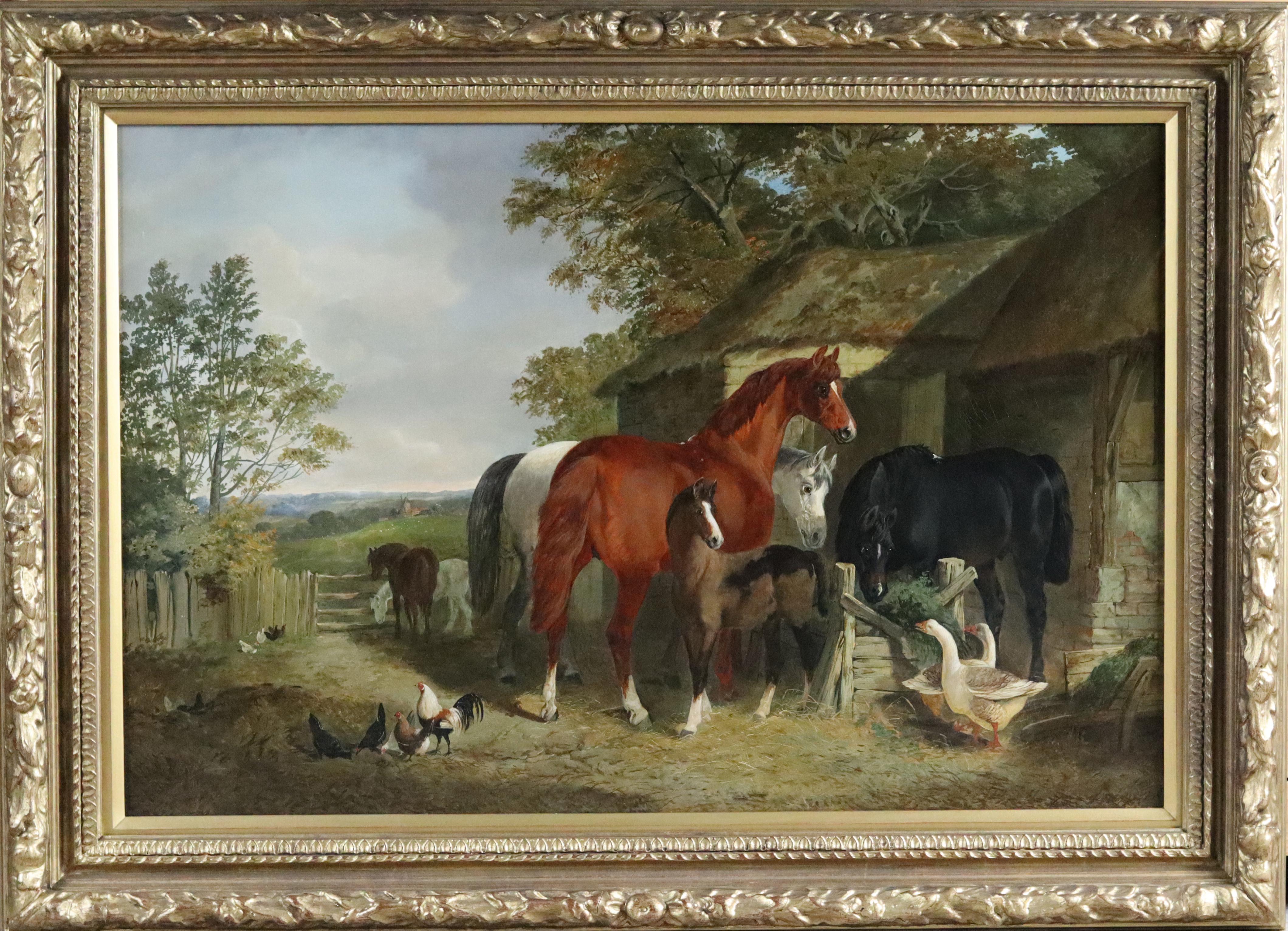 Farmyard Scene fr